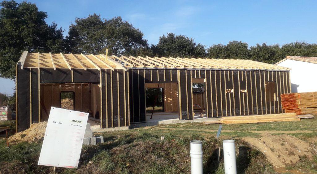 Maison en ossature bois sur Froidfond
